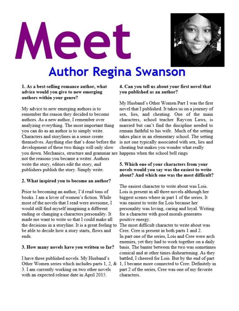 Meet Regina Page 1